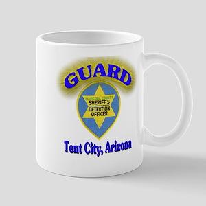 Guard Tent City Maricopa Coun Mug
