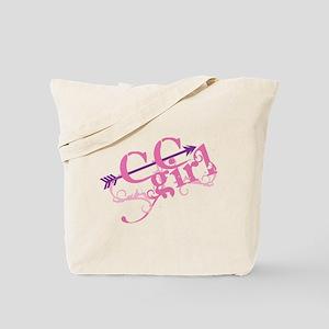 Cross Country Girl Tote Bag