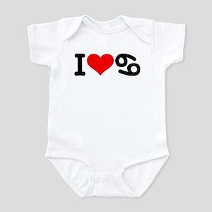 I love 69 Infant Bodysuit