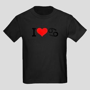 I love 69 Kids Dark T-Shirt