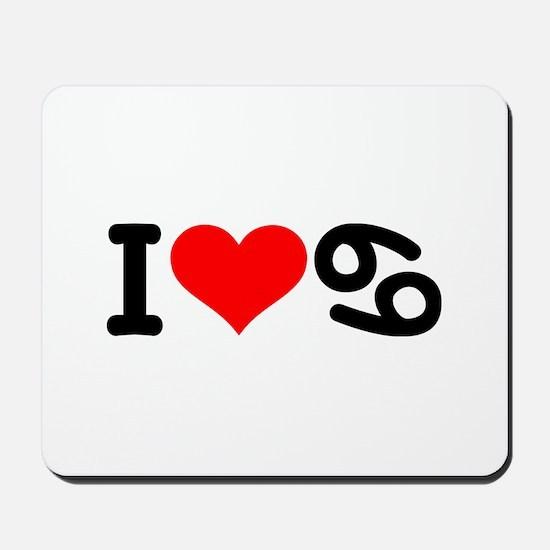 I love 69 Mousepad