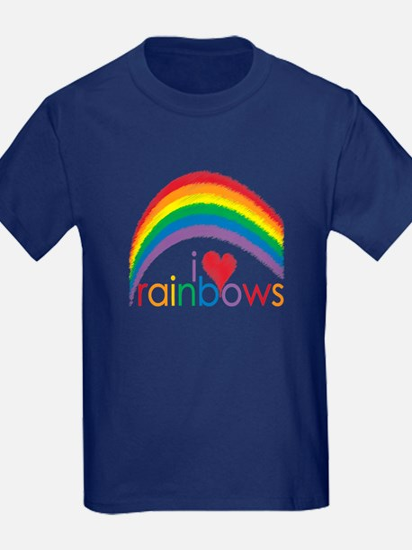 I Love Rainbows T