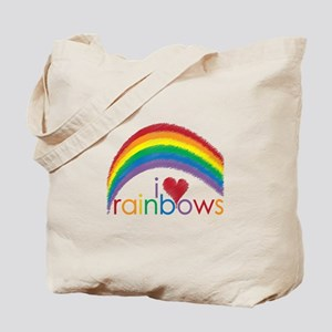 I Love Rainbows Tote Bag