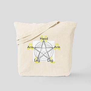 A.L.L.A.H. - Arm Leg Leg Arm Tote Bag
