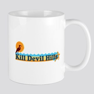 Kill Devil Hills NC - Beach Design Mug