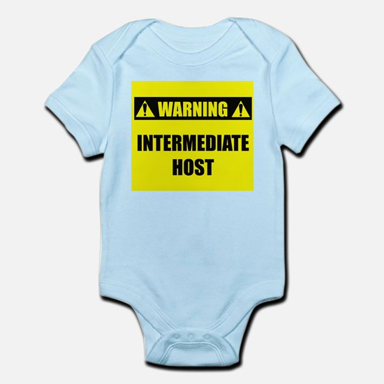 WARNING: Intermediate Host Infant Bodysuit