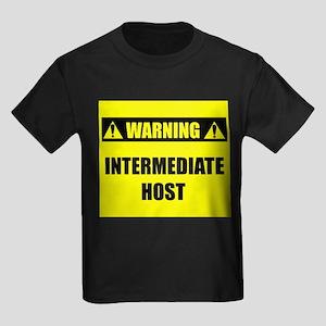 WARNING: Intermediate Host Kids Dark T-Shirt