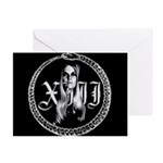 Jinx Ouroboros Wreath Saturnalia Greeting Card
