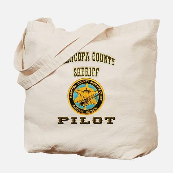 Maricopa County Sheriff Pilot Tote Bag