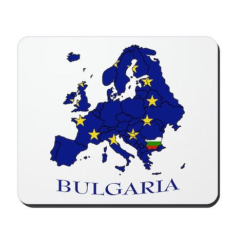 European Union - Bulgaria Mousepad