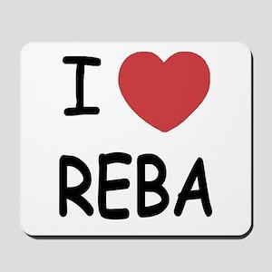 I heart Reba Mousepad