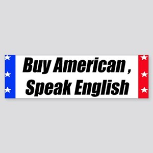 American Bumper-Sticker Bumper Sticker