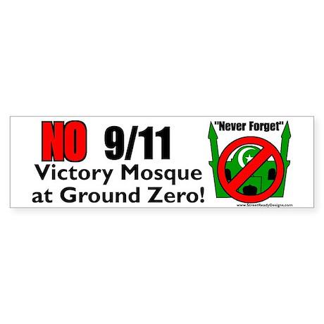 Ground Zero Mosque Bumper Sticker