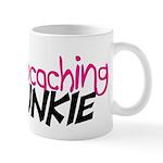 Geocaching Junkie - Hot Pink Mug