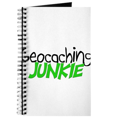 Geocaching Junkie - Green Journal