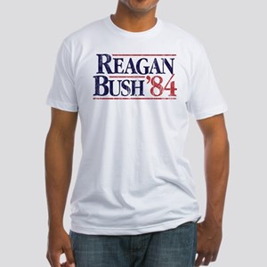 Reagan Bush '84 Campaign Fitted T-Shirt
