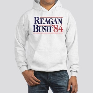 Reagan Bush '84 Campaign Hooded Sweatshirt