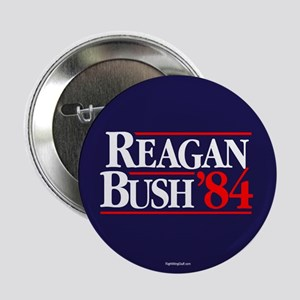"Reagan Bush '84 Campaign 2.25"" Button (10 pack)"