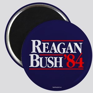 "Reagan Bush '84 Campaign 2.25"" Magnet (10 pack)"