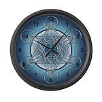 Metatrons Cube Large Wall Clock