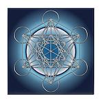 Metatrons Cube Tile Coaster