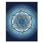 Metatrons Cube Small Poster