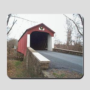 Van Sant Covered Bridge Mousepad