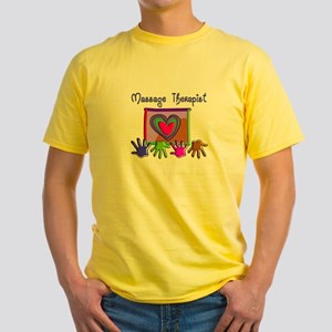 Massage Therapy Yellow T-Shirt