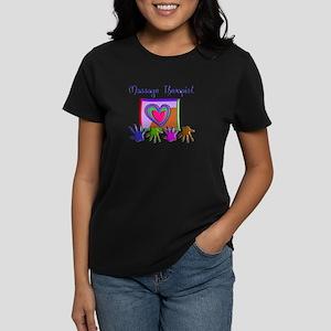 Massage Therapy Women's Dark T-Shirt