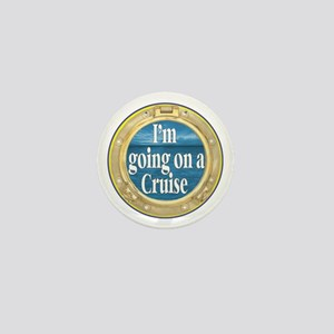 I'm going on a Cruise Mini Button (10 pack)