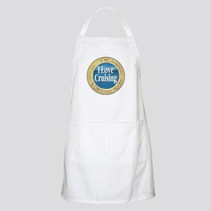 I Love Cruising BBQ Apron