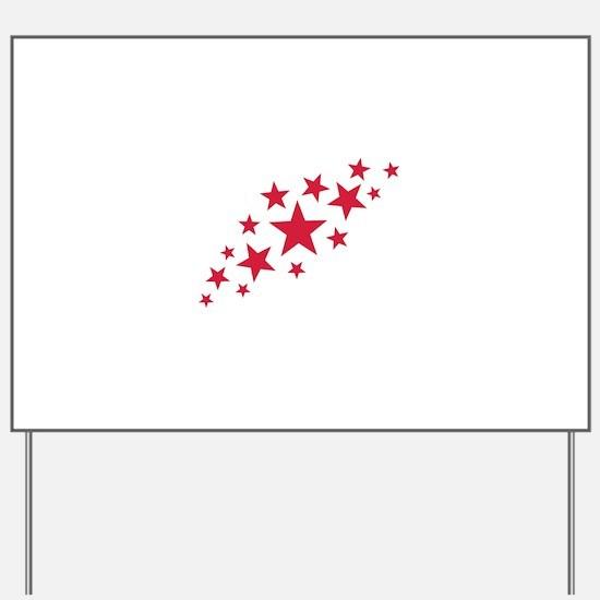 Stars sky Yard Sign