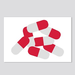 Pills Postcards (Package of 8)