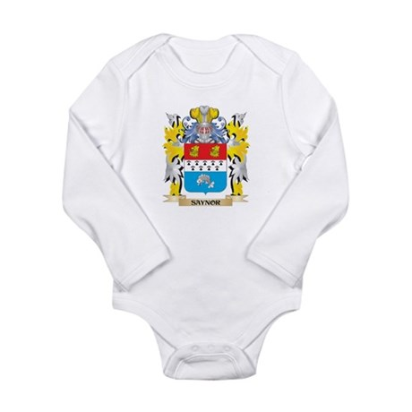 Saynor Family Crest - Coat of Arms Body Suit