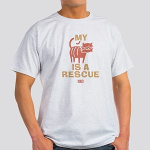 My Cat Is a Rescue Light T-Shirt