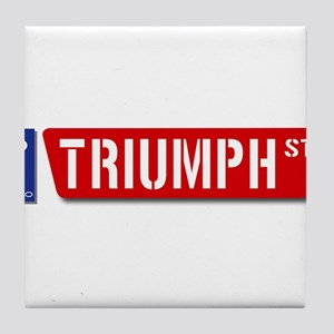 Official Dowco Triumph Street Tile Coaster