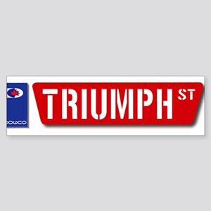 Official Dowco Triumph Street Sticker (Bumper)