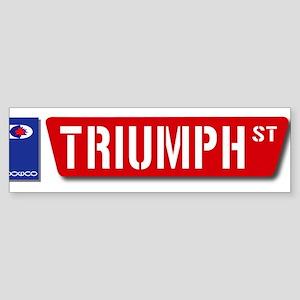Official Dowco Triumph Street Sticker (Bumper)