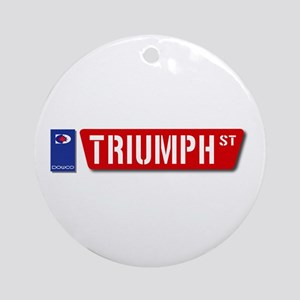 Official Dowco Triumph Street Ornament (Round)