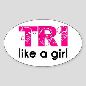 swirltrilikeagirl_sticker Sticker