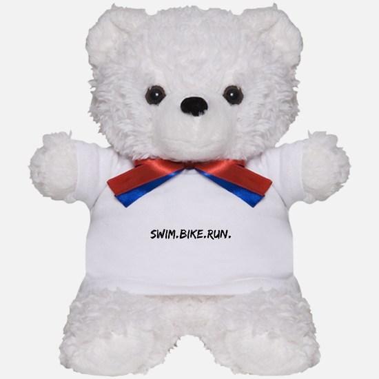 Swim. Bike. Run. Teddy Bear