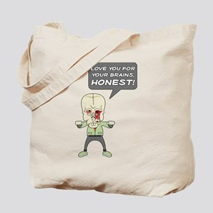 Love Your Brains Tote Bag