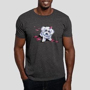 Bichon Frise Mischief Dark T-Shirt