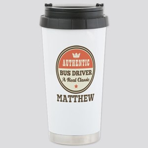Personalized Bus Driver Gift Travel Mug