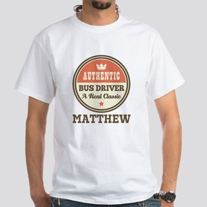 Personalized Bus Driver Gift T-Shirt