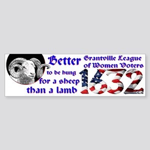 1632 Bumper Sticker