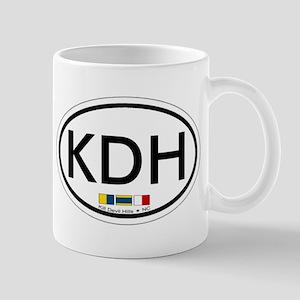 Kill Devil Hills NC - Oval Design Mug