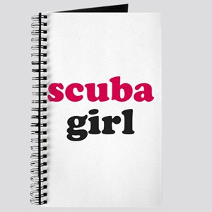 scuba girl Journal