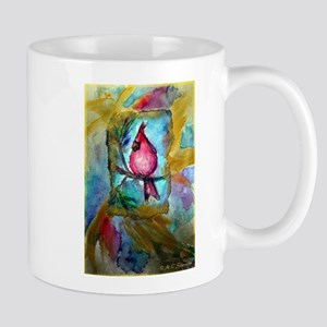 Cardinal, Cheerful, Bird lover, Mug