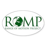 ROMP Oval Sticker